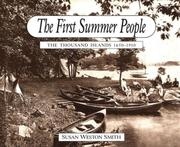 Cover of: The first summer people