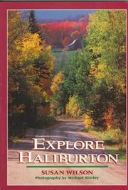 Cover of: Explore Haliburton