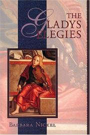Cover of: The Gladys elegies