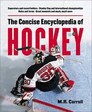 Cover of: The concise encyclopedia of hockey