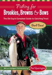 Cover of: Fishing for Brookies, Browns and Bows | Gord Deval