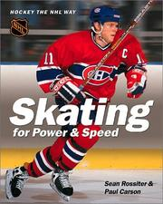 Cover of: Skating for Power & Speed | Sean Rossiter
