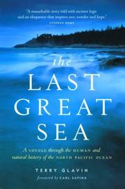Cover of: The Last Great Sea | Terry Glavin