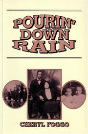 Cover of: Pourin' down rain