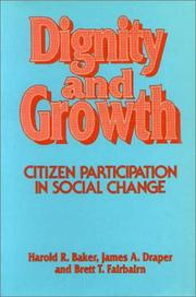 Cover of: Dignity and growth