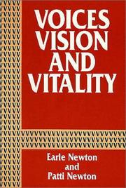 Cover of: Voices, Vision, and Vitality | Earl Newton