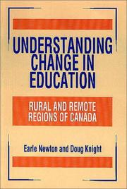 Cover of: Understanding change in education