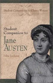 Cover of: Student companion to Jane Austen
