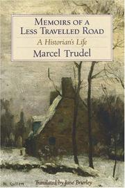 Cover of: Memoirs of a less travelled road