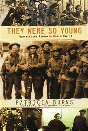 Cover of: They were so young | Burns, Patricia