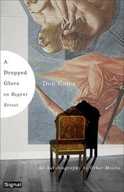 Cover of: A Dropped Glove in Regent Street | Don Coles