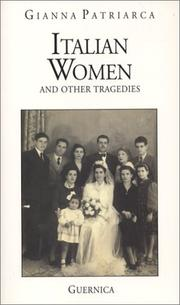 Cover of: Italian women and other tragedies