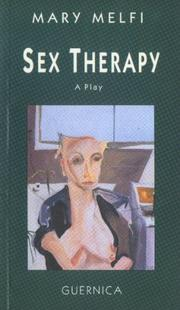 Cover of: Sex therapy