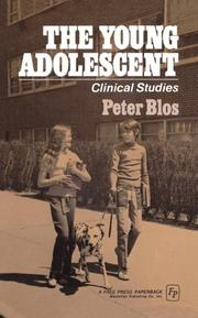 Cover of: Young Adolescent | Peter Blos