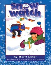 Cover of: Snow Watch | Cheryl Archer