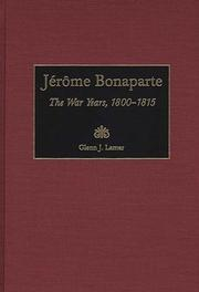 Cover of: Jérôme Bonaparte