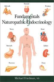 Fundamentals of Naturopathic Endocrinology by Michael Friedman