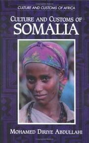 Cover of: Culture and Customs of Somalia (Culture and Customs of Africa)
