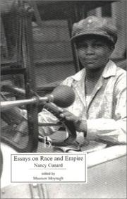 Cover of: Essays on race and empire