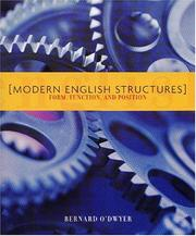 Cover of: Modern English Structures | Bernard O