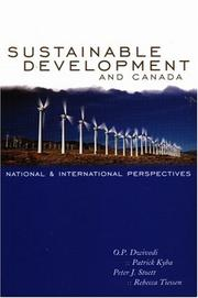 Cover of: Sustainable development and Canada