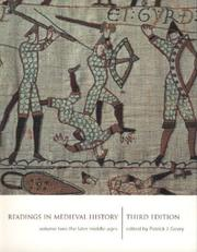 Cover of: Readings in Medieval History 3/e Volume II