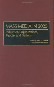 Cover of: Mass media in 2025 |