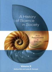 Cover of: history of science in society | Andrew Ede