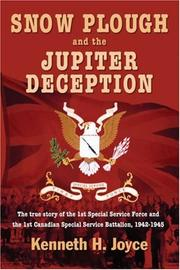 Cover of: SNOW PLOUGH AND THE JUPITER DECEPTION | Ken Joyce