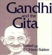 Cover of: Gandhi and the Gita |