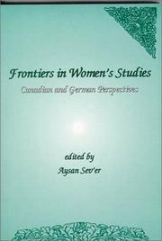 Cover of: Frontiers in Women