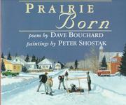 Cover of: Prairie born