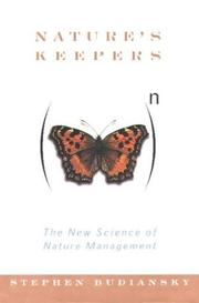 Cover of: Nature's keepers