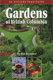 Cover of: Gardens of British Columbia