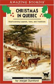 Cover of: Christmas in Quebec | Megan Durnford