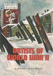 Cover of: Artists of World War II (Artists of an Era)