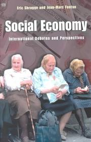 Cover of: SOCIAL ECONOMY | Eric Shragge