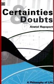 Cover of: Certainties and Doubts