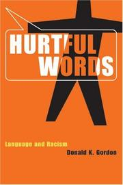 Cover of: Hurtful Words