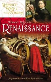 Cover of: Women's roles in the Renaissance