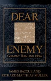 Cover of: Dear enemy