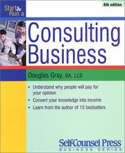Cover of: Start and Run a Consulting Business (Start & Run a)
