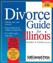 Cover of: Divorce Guide for Illinois