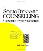 Cover of: Sociodynamic counselling