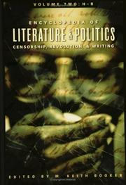 Cover of: Encyclopedia of Literature and Politics: Censorship, Revolution, and Writing: Volume 2