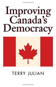 Cover of: Improving Canada\'s Democracy