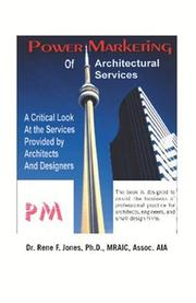 Cover of: Power Marketing of Architectural Services