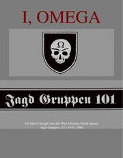 Cover of: I, Omega - A Clinical Insight into the West German Death Squad | Galleon Press (co-publisher)