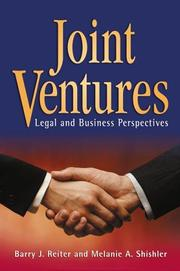 Cover of: Joint Ventures | Barry J. Reiter