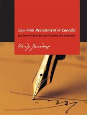 Cover of: Law Firm Recruitment in Canada